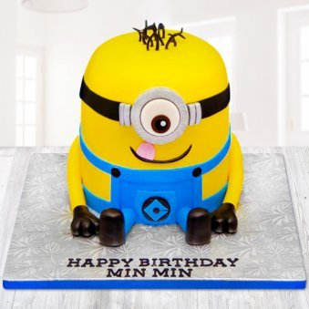 Mischievous Minion Cake For Kids