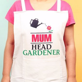 Apron for Gardener Mom