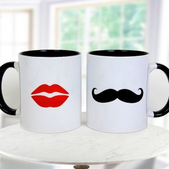 MR. Right and MRS. Always Right Paired Lovely Mugs