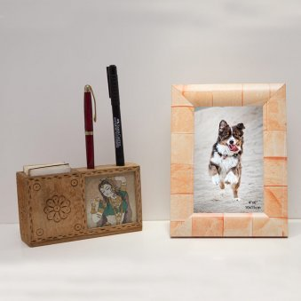 Rectangle Multi-Colour 4x6 Photo Frame