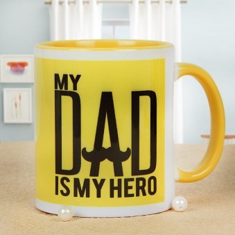 My Hero Dad Mug