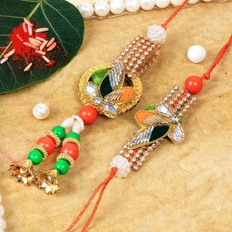 Colorful Regards Rakhi