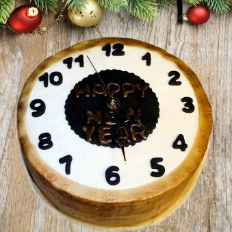 New Year Countdown Cake