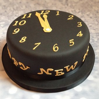 New Year Eve Cake