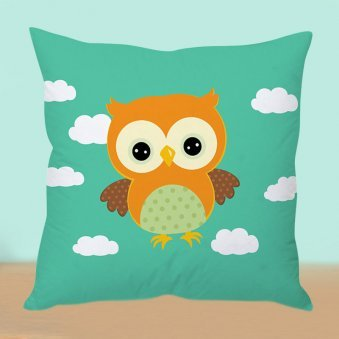 Owl Cloud Cushion