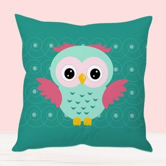 Owl Princess Cushion