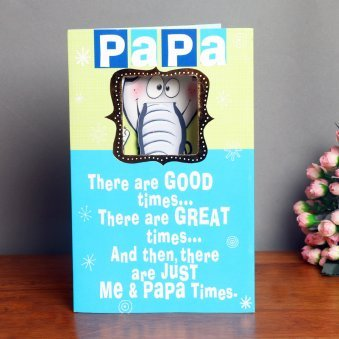 Quoted Greeting Card for Dad