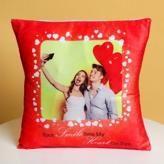 Passionate Affection - A Personalised Love Cushion