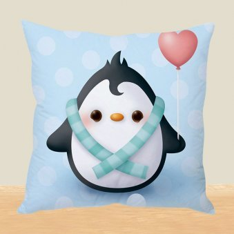 Penguin Dance Cushion