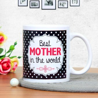 Perfectly Defined Love - A Mug Gift For Mother with Front Sided View