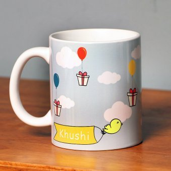 Personalised Birthday Mug for Kids