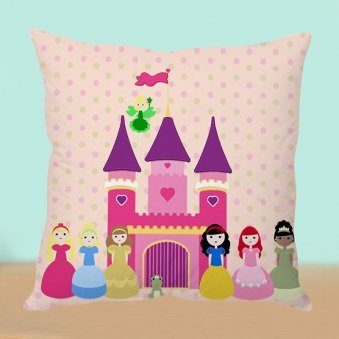 Princess World Cushion
