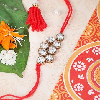 Red Diamond Rakhi