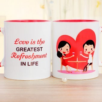 One Love Couple Mug
