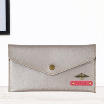 Charming Rosegold Personalized Wallet