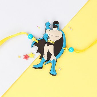 Rowdy Batman Rakhi for Kids