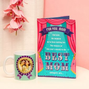 Selfless Love - Combo of Personalised Mug and a Card