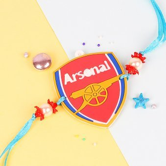 Arsenal Football Club Rakhi for Kids
