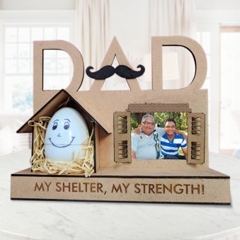 Fathers day Personalised Lamp for Father