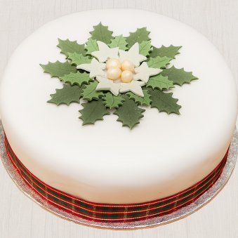 Starry Christmas Delight - A Delicious Christmas Cake