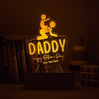 Super Daddy Night Lamp
