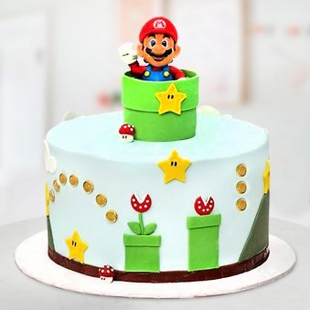 Mario cake for kids