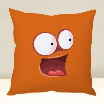 Surprising Orange Cushion