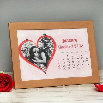 Personalised Lovely Calendar
