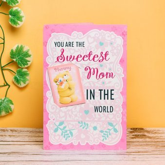Sweet Mom - A Beautiful Greeting Card