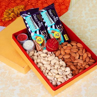 Chocolate and Dry Fruits Combo for Bhai Dooj