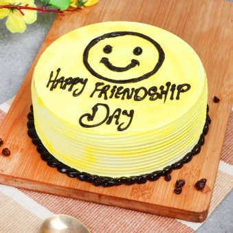 Friendship Day Pineapple Cake