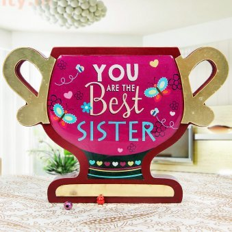 Sweetest Moment Sister Trophy