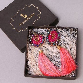Tasseled Beauty - A Gift of Earrings