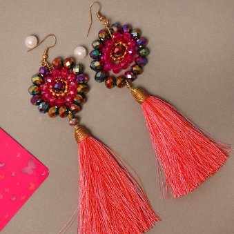 Tasseled Beauty - B Gift of Earrings