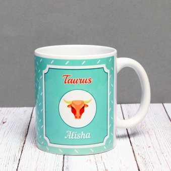 Personalised Mug for Taurus People