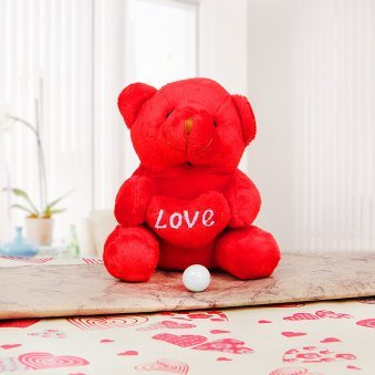 Love Red Teddy