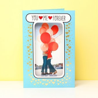 You Me Forever Card