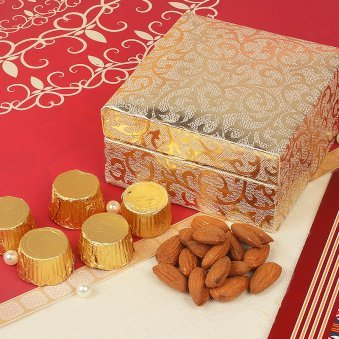 Diwali Chocolate Gift Box with Dry Fruits