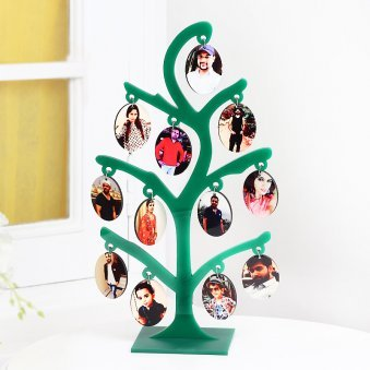 Personalised Family Photo Tree