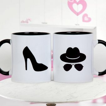 The Boss and The Real Boss Paired Gorgeous Mugs