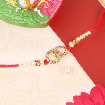 Tied Together - Diamond Rakhi for Brother