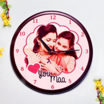 Personalised Wall Clock for Mom