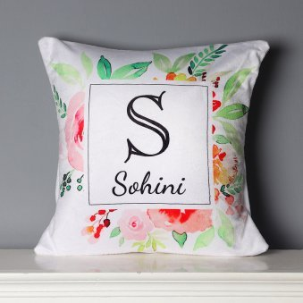 Personalised Name Printed Cushion