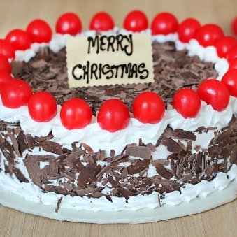 Black Forest Cake for Christmas