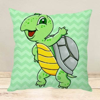 Tortoise Tickle Cushion