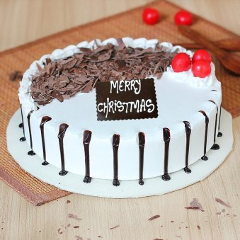 Twin Xmas Cake For Christmas