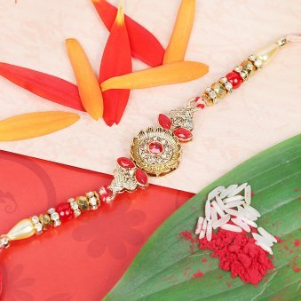 Unique Bandhan - A Stone Rakhi for Bhai