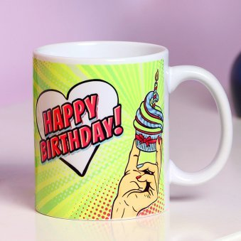 A Personalised Birthday Mug