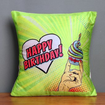 A Personalised Birthday Cushion