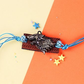 Winter Coming Stark Rakhi for Brother